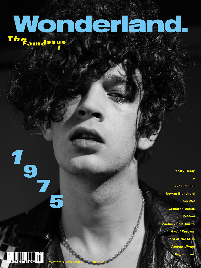 Wonderland Magazine  Matty Healy